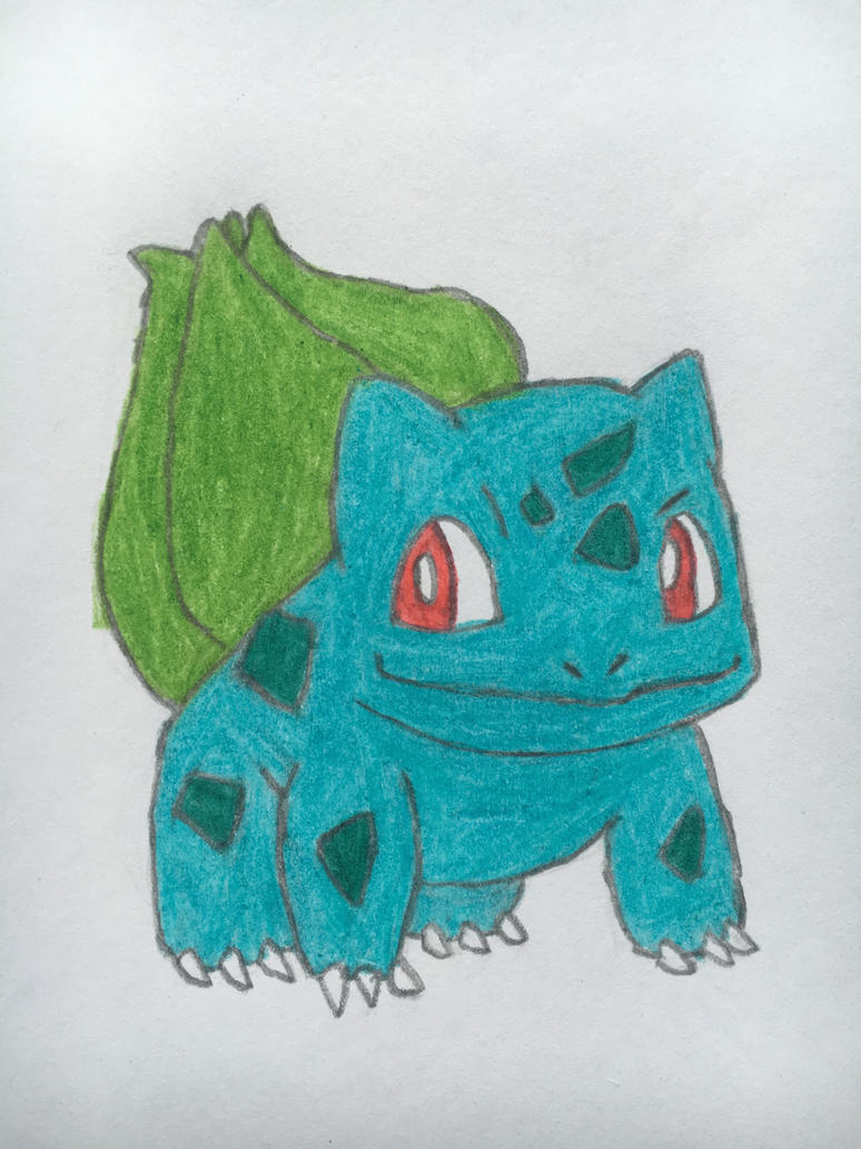 Bulbasaur by nintendolover2010