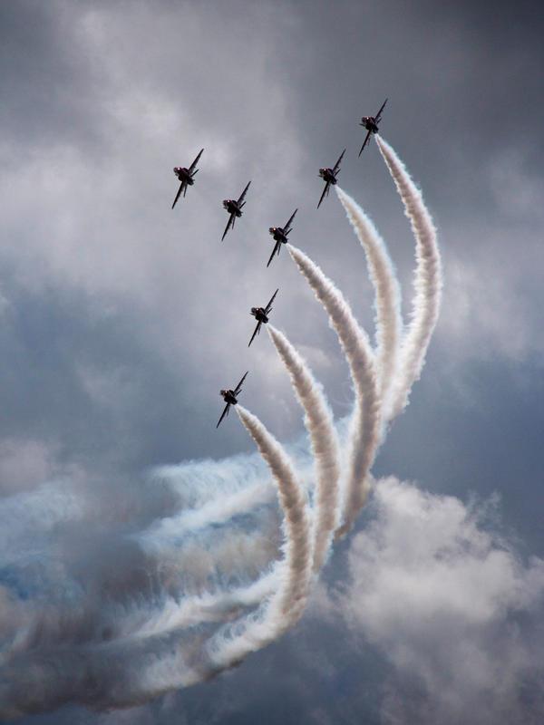 Air Show by Shoreham-Boy