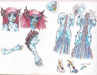 Nessarose's Monsterly drabbles by Tsukiko-koe
