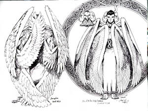 Seraphim and Creature 4 of 4