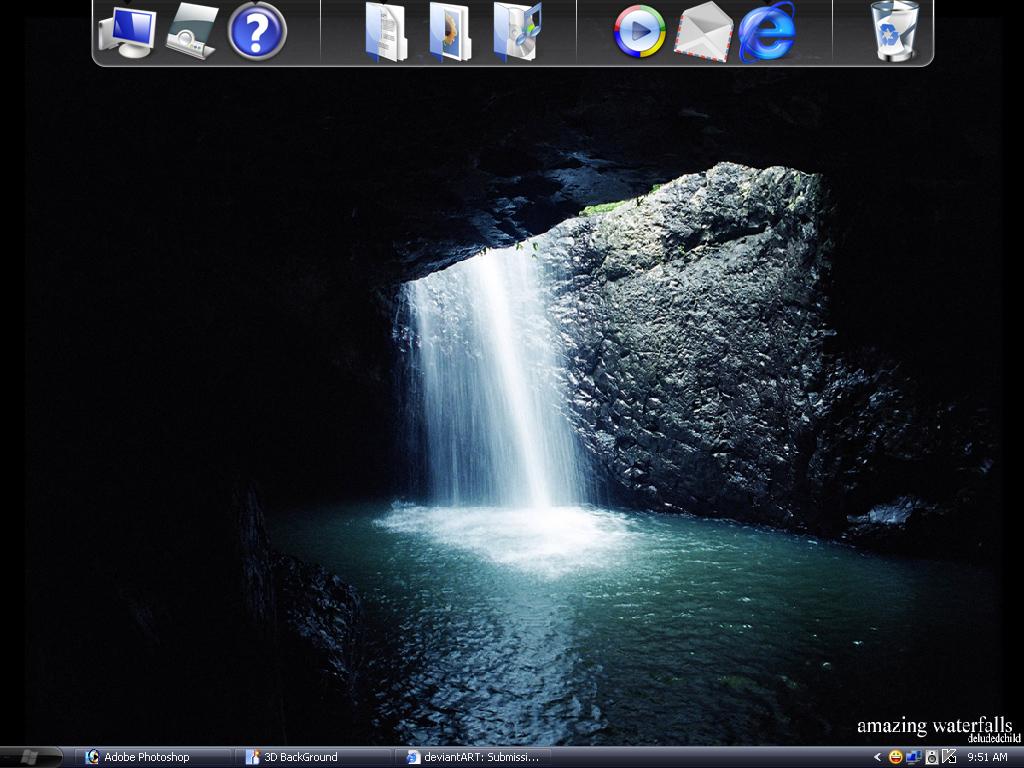My Desktop by Brainmastergraphic