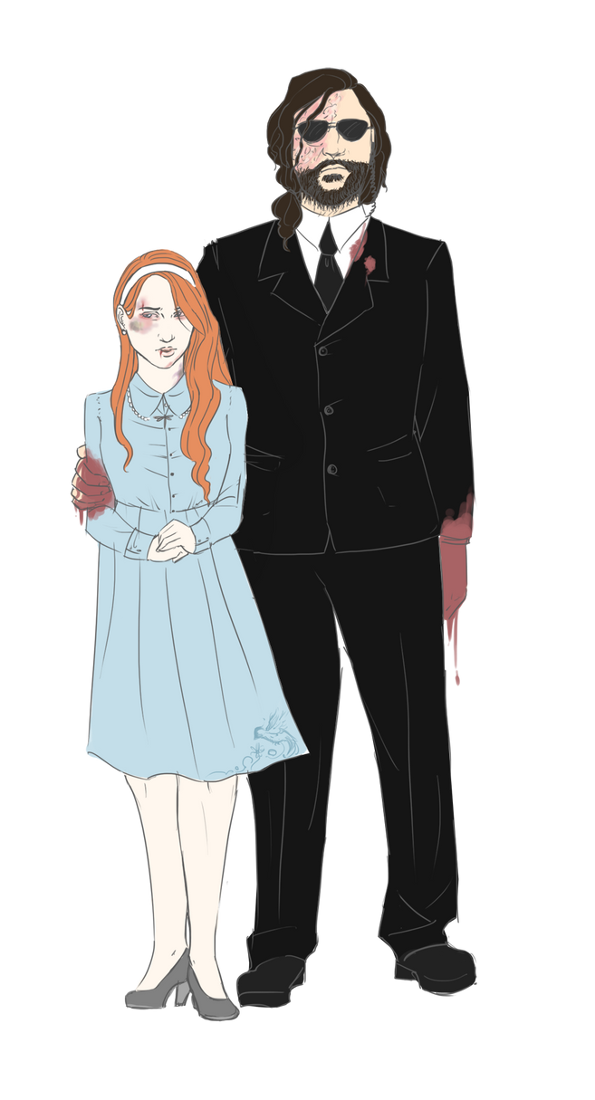 Sansa and The Hound by IsabelSparrow on DeviantArt