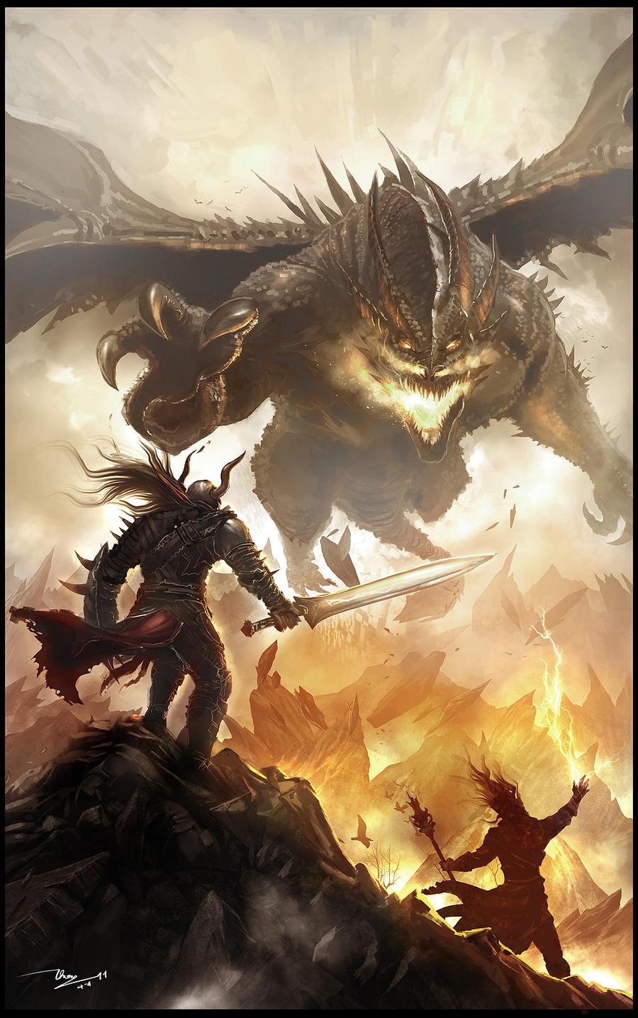 Dragon Warrior by thiennh2