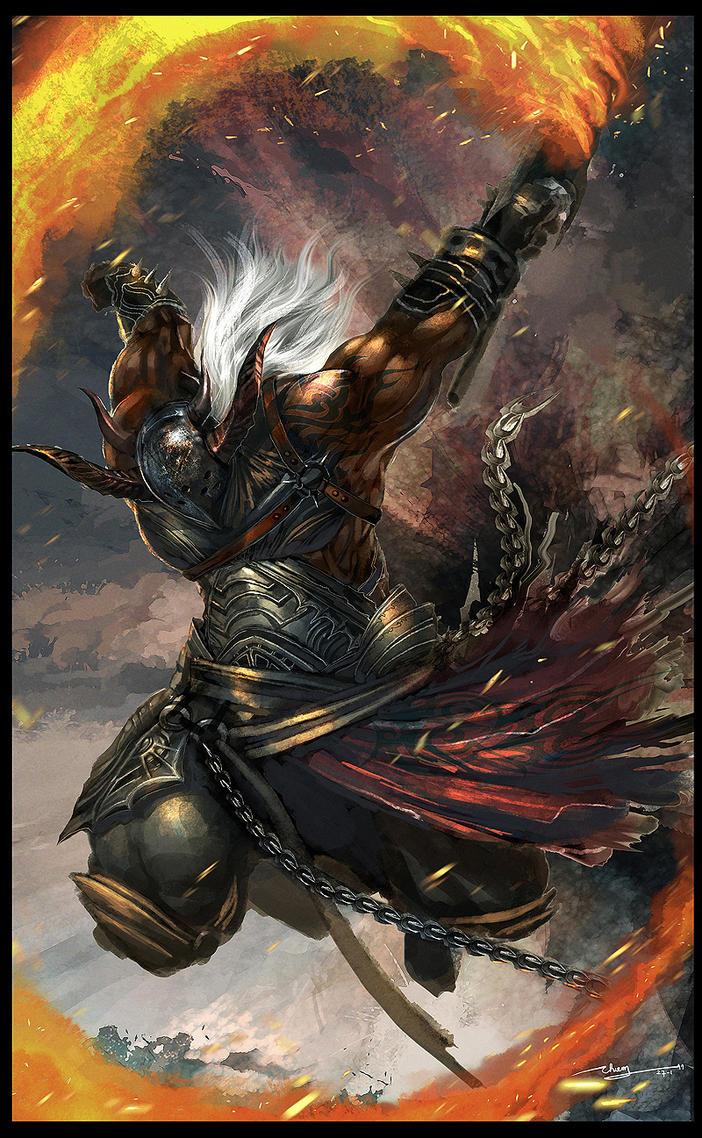 Fire Warrior by thiennh2