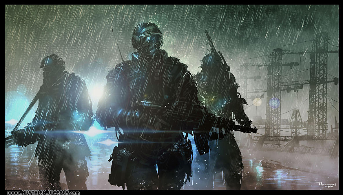 Patrol Soldier by thiennh2