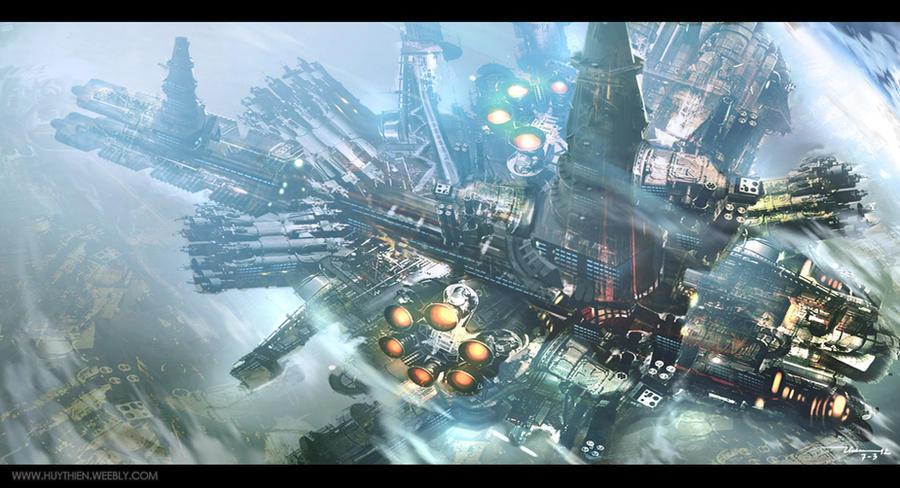 Spaceship by thiennh2