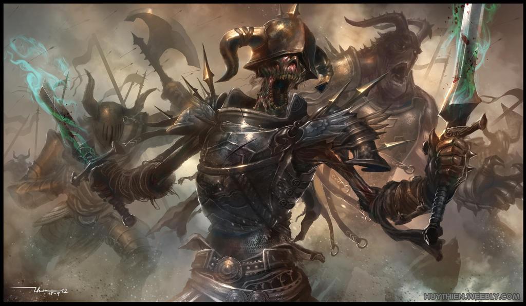 Dark Army by thiennh2