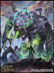 The familiar of Darkness Regular -LoC Cards