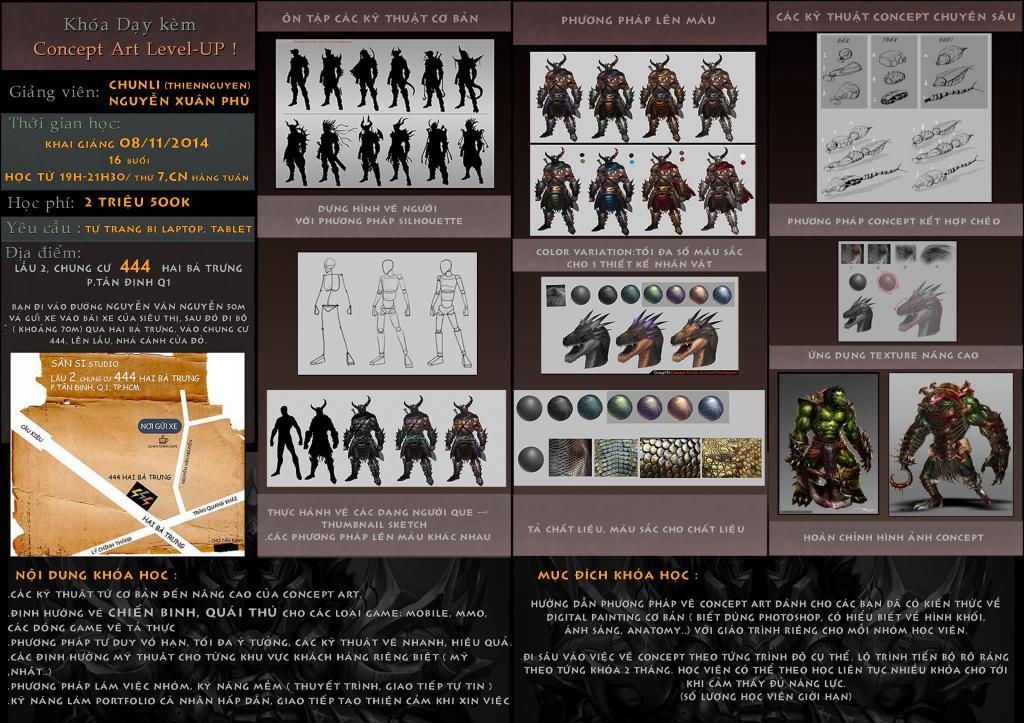 Gioi thieu Khoa Day kem Concept art by thiennh2