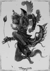 Hanuman by thiennh2