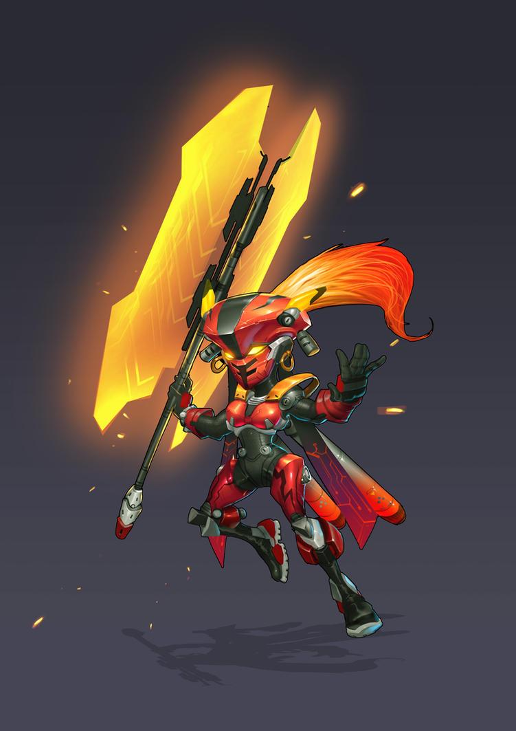 Princess Iron Fan by thiennh2
