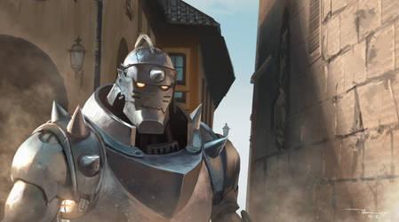 [ Fullmetal alchemist ] Fan art by thiennh2