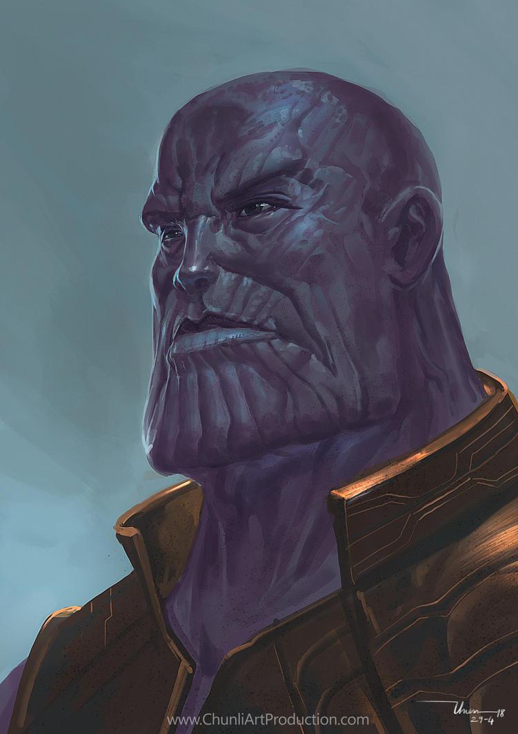 Thanos Fan-art by thiennh2