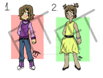 (Reduced)[OPEN] Cute Adoptables / ADOPTS #1 by FrozenFortuneTeller