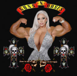 Gaga's Guns and Roses by 04Brutale