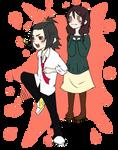 MM - Ku and Ling chibi