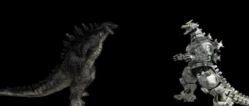Godzilla 2014 vs Kiryu by Trex2007 on DeviantArt