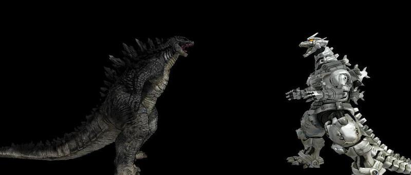 Godzilla 2014 vs Kiryu by Trex2007 on DeviantArt