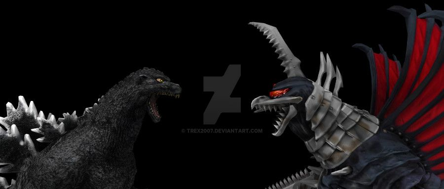 Godzilla Vs Gigan by Trex2007 on DeviantArt