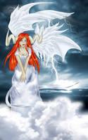 White Demoness by Elysium-Arts