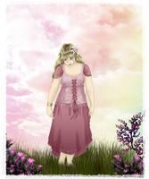 Thinking Pink by Elysium-Arts
