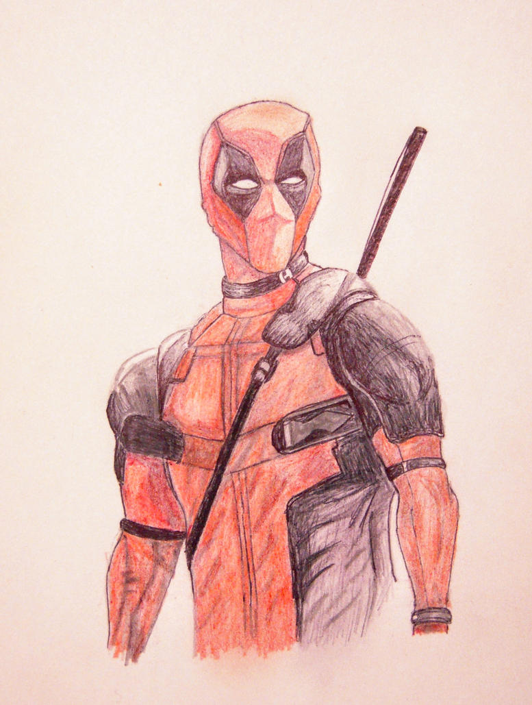 Deadpool by MoonFeather2017