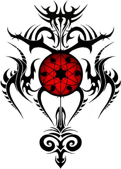 Sharingan Tribal by ~Frodoliciousdubs on deviantART