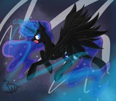 Nightmare Moon by BlacksWhites