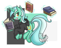 Lyra The Best Bg Pony Evur by BlacksWhites