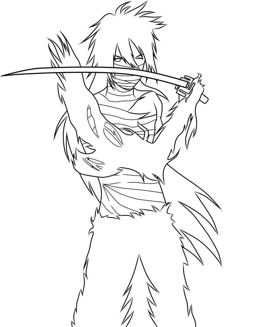 ichigo coloring pages - photo#19