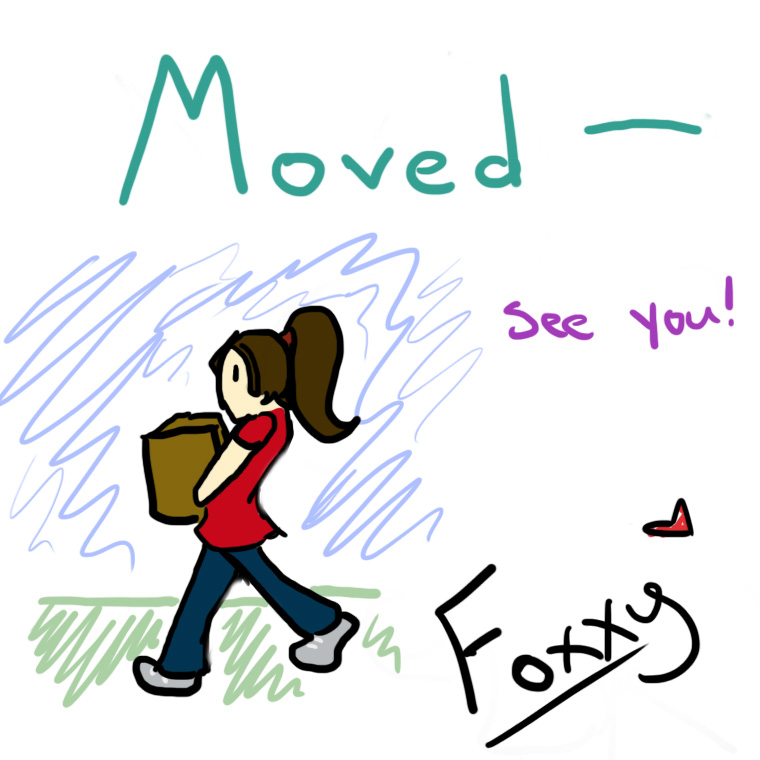 I've Moved! by Raphael4ever