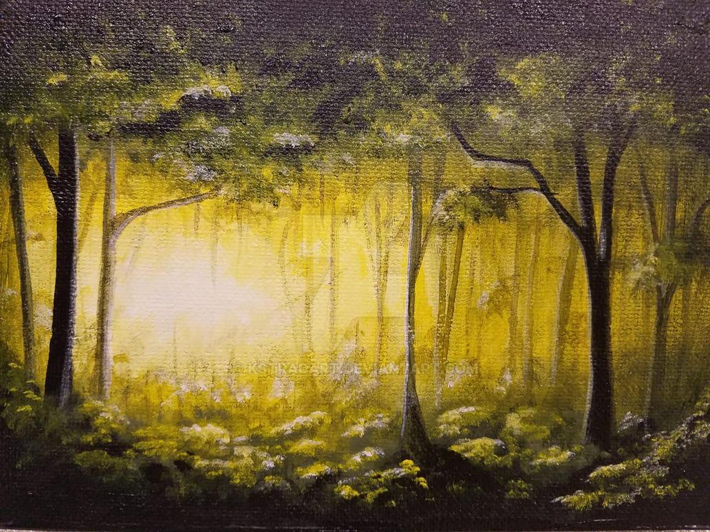 Forest by KStradArt