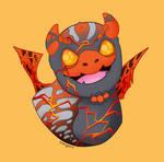 Cinderbug by rosebudmcm