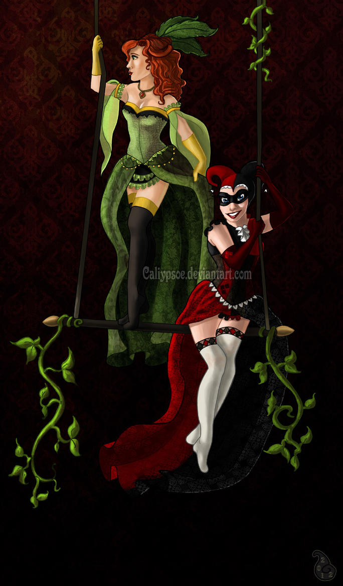 Harley + Ivy by Caliypsoe