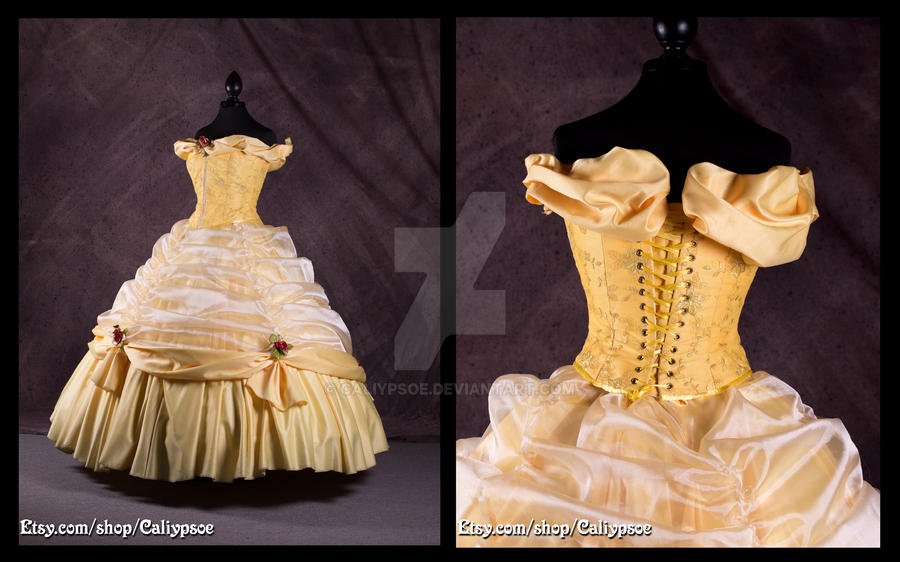 Belle S Ball Gown 3 By Caliypsoe On Deviantart