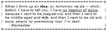 Blackadder - tomorrow we die by wren-rose