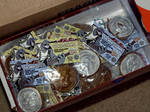 OilCan Drive Chocolate Henry Coins by OilCanDrive