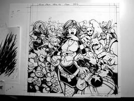 OilCan Drive #2 Cover - Finished Inks A by OilCanDrive