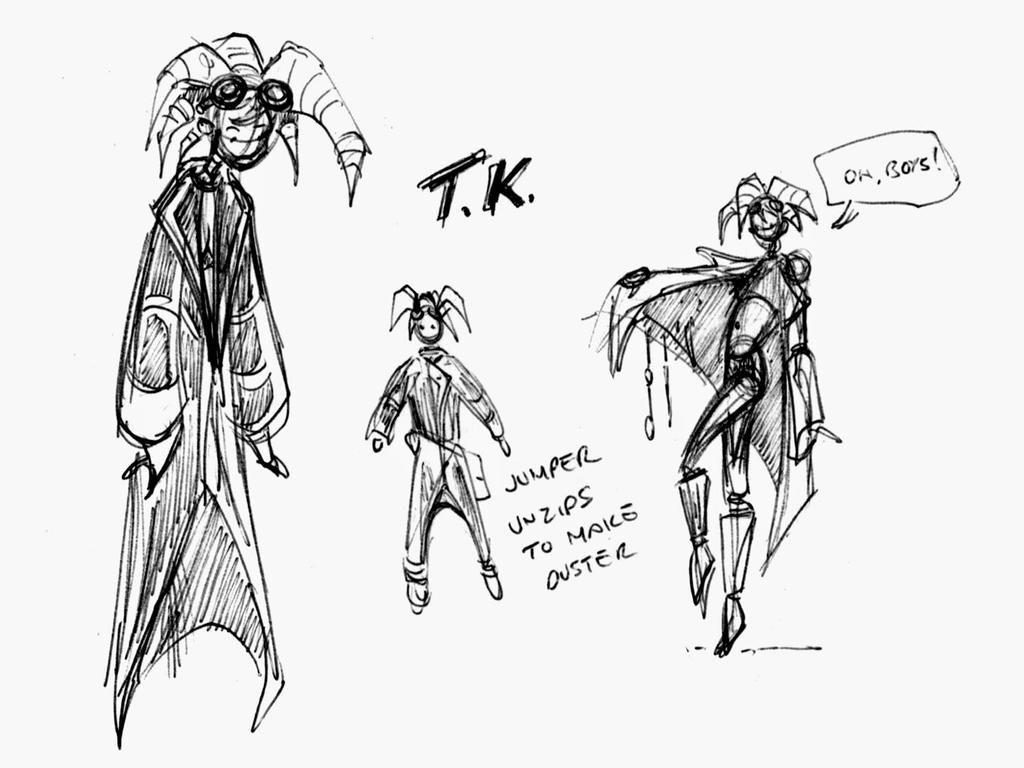 TK Thumbnail Sketches by OilCanDrive