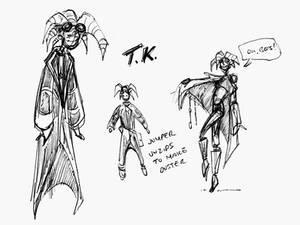 TK Thumbnail Sketches