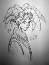 TK Pencil Sketch