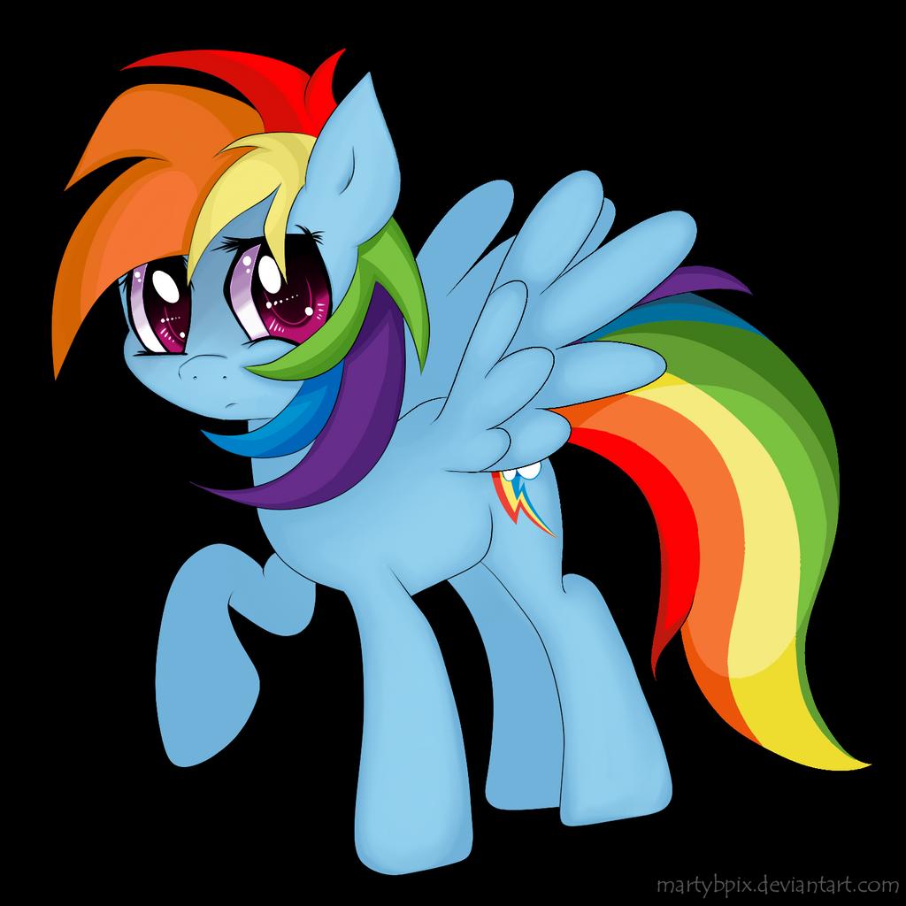 Rainbow Dash by martybpix