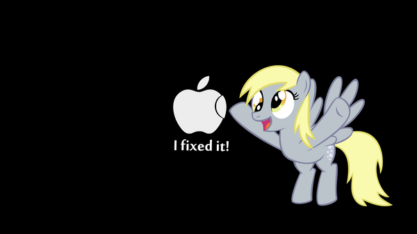 Derpy Can Fix Things WP by martybpix