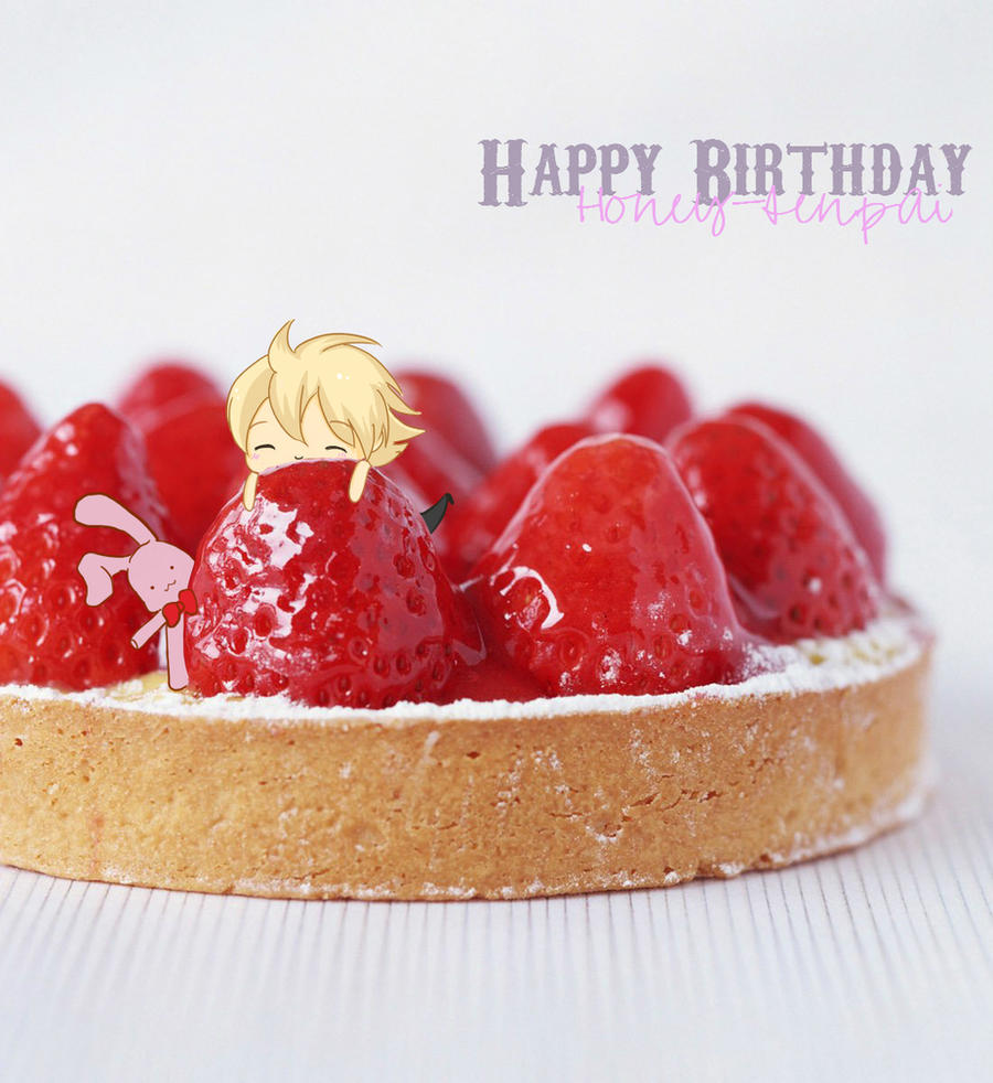 Happy Birthday Honey-senpai by BigNaye