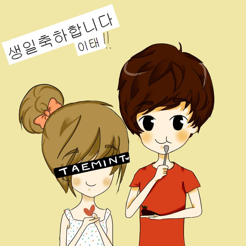 To my beautiful Taemin.  Taemin_19_20__s_birthday__by_bignaye-d57un7i