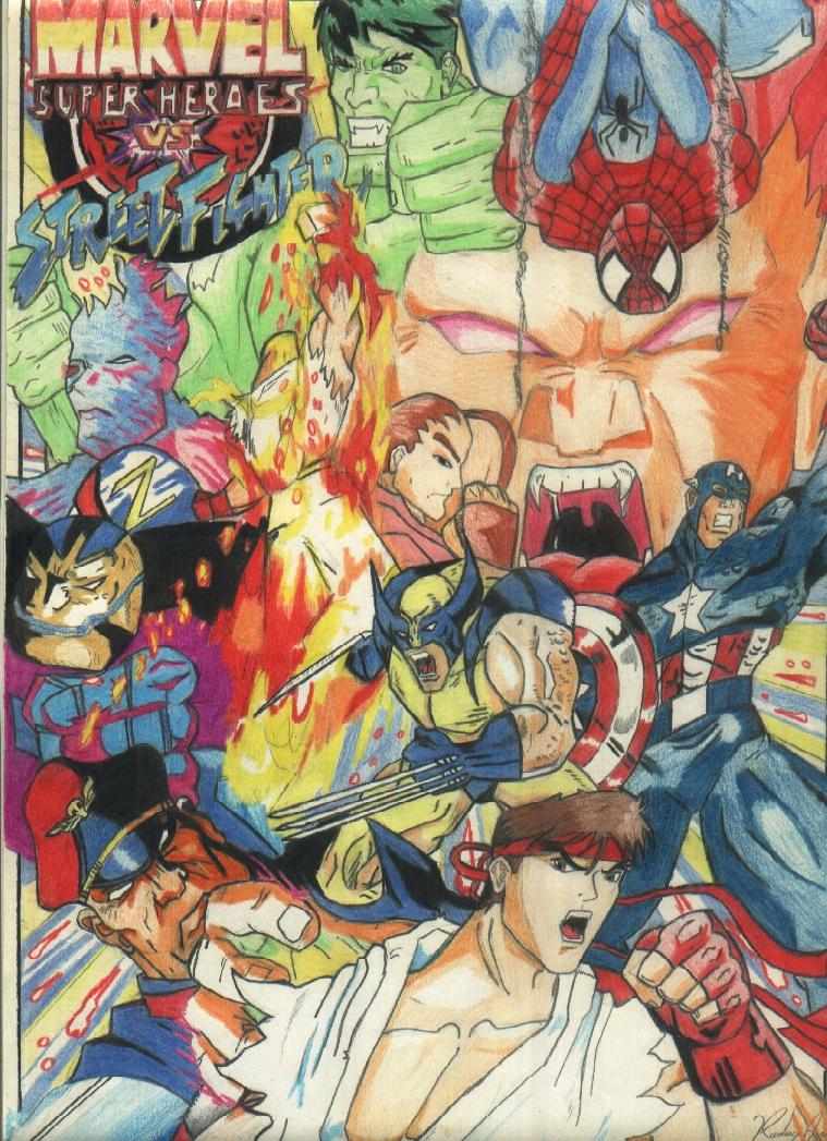 Street Fighter Vs Marvel Play It Online 14