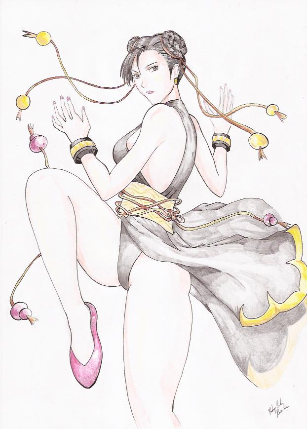 Chun-li Street Fighter IV by RodrigoRainober