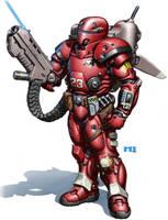 Gray Death Legion Armor by SteamPoweredMikeJ