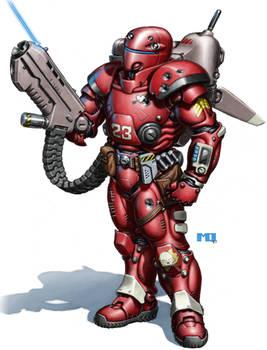Gray Death Legion Armor