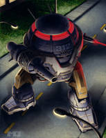 Battletech - Suburbanmech by SteamPoweredMikeJ